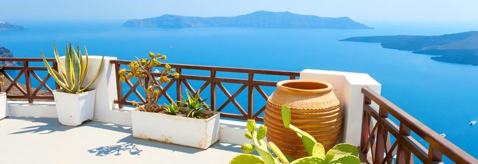 Santorini med all inclusive